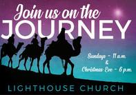 Christmas Church Postcard 2104
