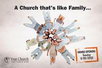 Church Launch Card CL2118