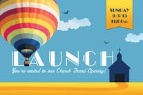 Church Launch Card CL2125