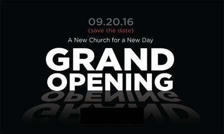 Church Launch Postcards