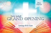 Church Launch Card CL2100