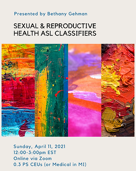 FB Sexual & Reproductive Health ASL Clas