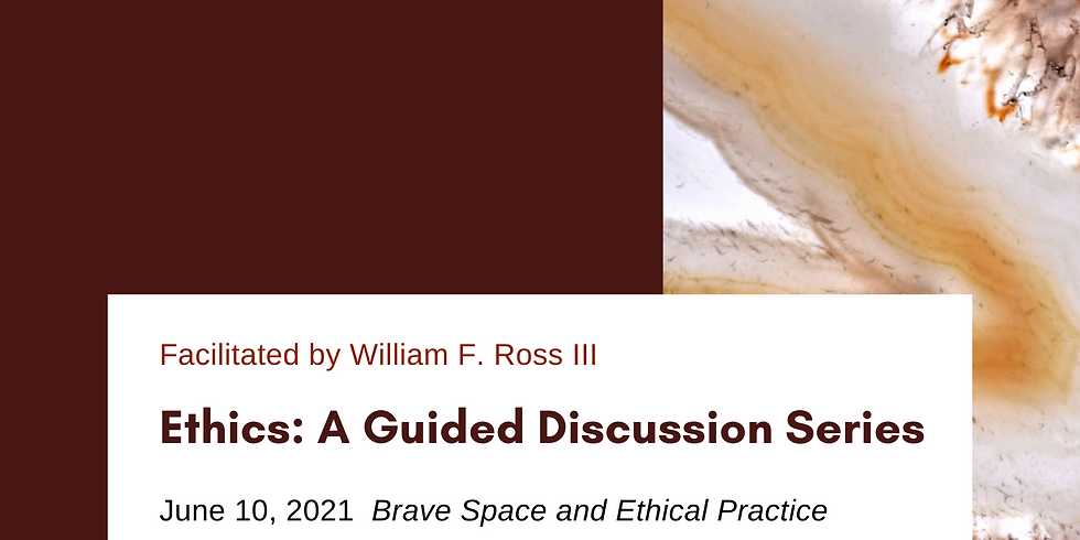 Ethics: A Guided Discussion - The How and Why of Our Ethics