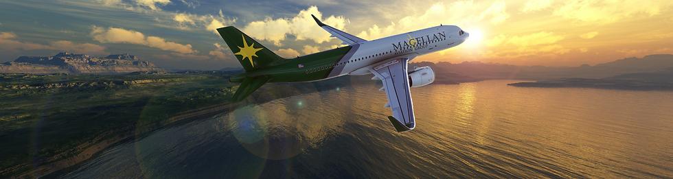 Magellan Aviation Group Aircraft, Airbus A320