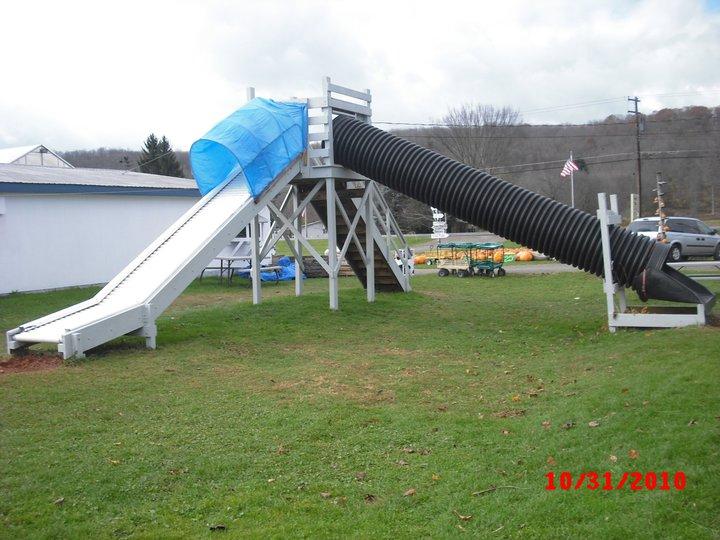PVC Tube Slides