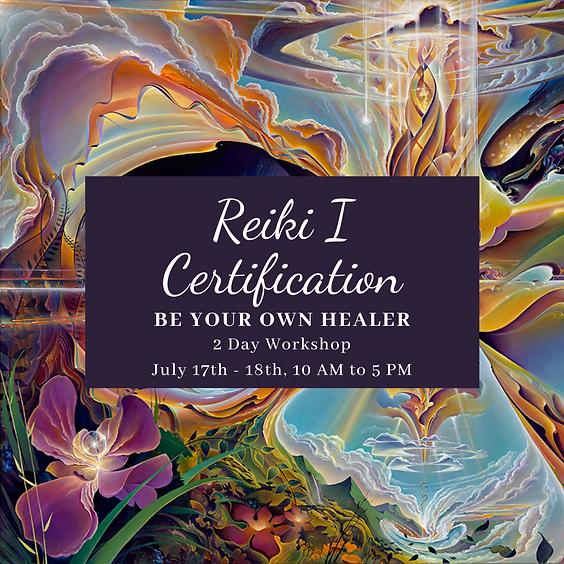 Reiki I Certification