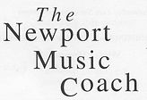 Newport Music Coach Words logo July 2015