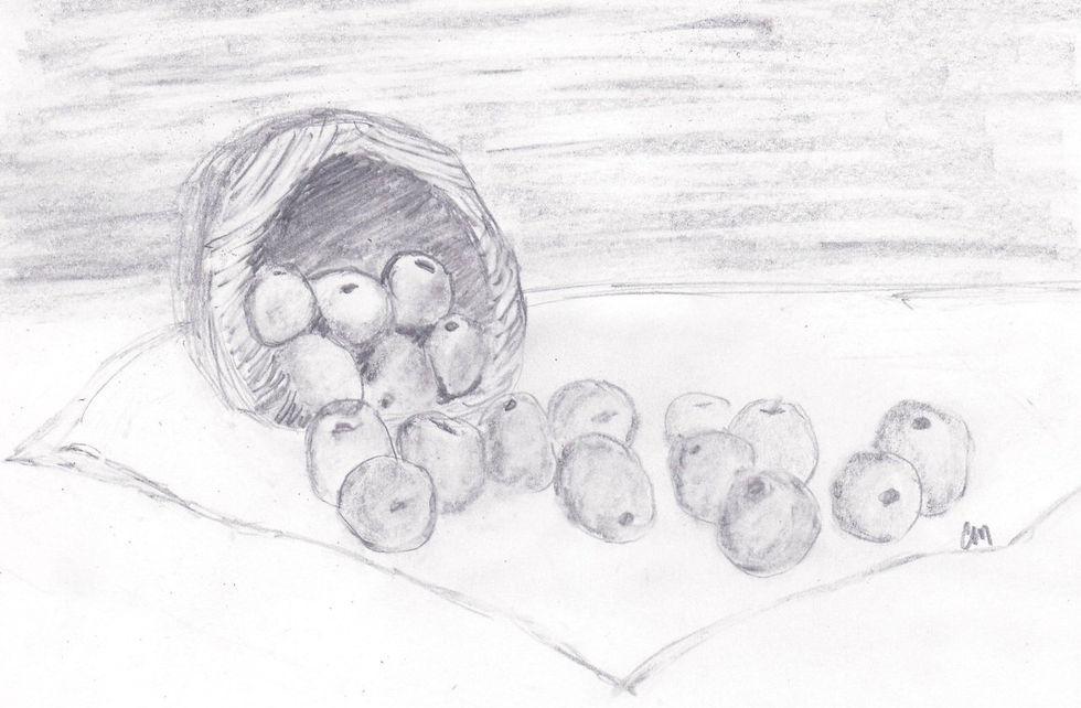 Primitive Basket of Apples Miers.JPG