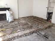 Rénovation d'un plancher en bois lambourde