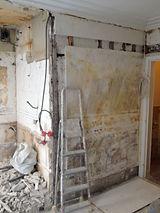 renovation appartement paris - mur