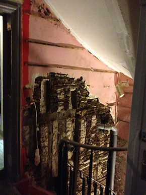 reprise colombage bois, reprise de structure