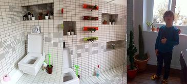 Salle de bain, douche à l'italienne, travaux de plomberie, fairplay rénove tous types de biens