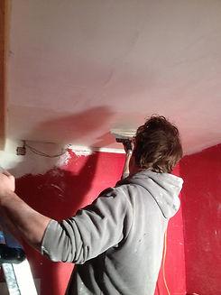 travaux de renovation des murs anciens