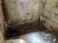 renovation des mur de la salle de bain