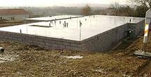 fondation, rénovation de la dalle béton