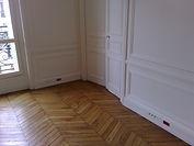 rénovation de vieilles portes, et vieux parquet