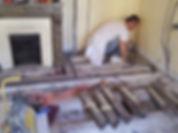 travaux de renovation - plancher