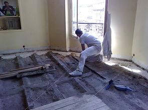 renovation paris plancher structure