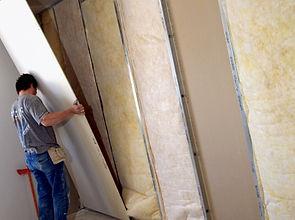 isolation et rénovation avec plaque de platre