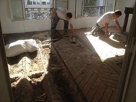 entreprise de renovation plancher