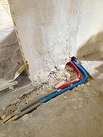 Rénovation u réseau de plomberie et encastrement de la plomberie