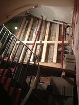 escalier reprise de structure et rénovation