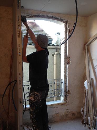 Rénovation du séjour sur rue