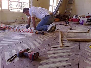 travaux de renovation - plancher structure