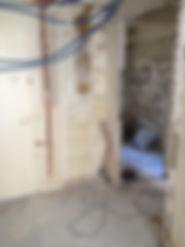 Rénovation de l'appartement - séjour