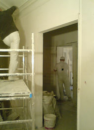 Rénovation chambre, plafond - Paris