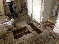 rénovation appartement Paris plancher structurant
