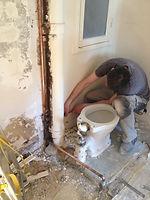renovation appartement Paris - wc