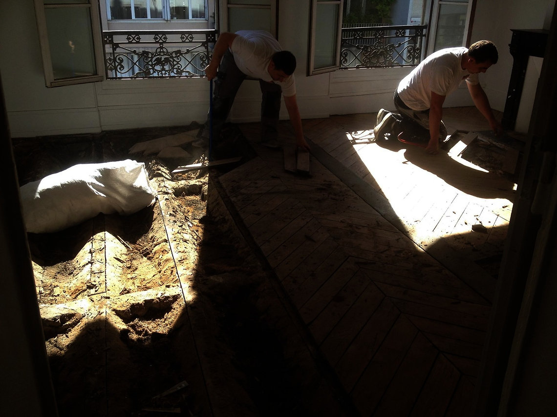 renovation apartement Paris