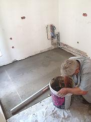 rénovation du béton et dalle allégée