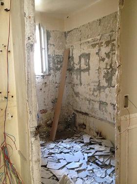 renovation appartement douche à l'italienne