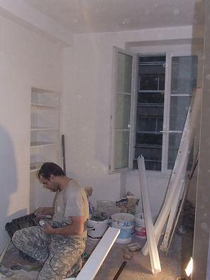 Rénover chambre à Paris - entreprise