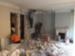 Rénovation du salon - cuisine