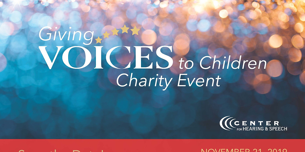 Giving Voices to Children Charity Event