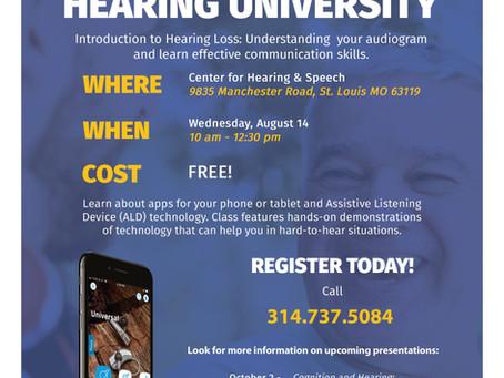 Hearing University