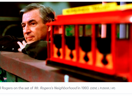 Mr. Rogers' guide for talking to children