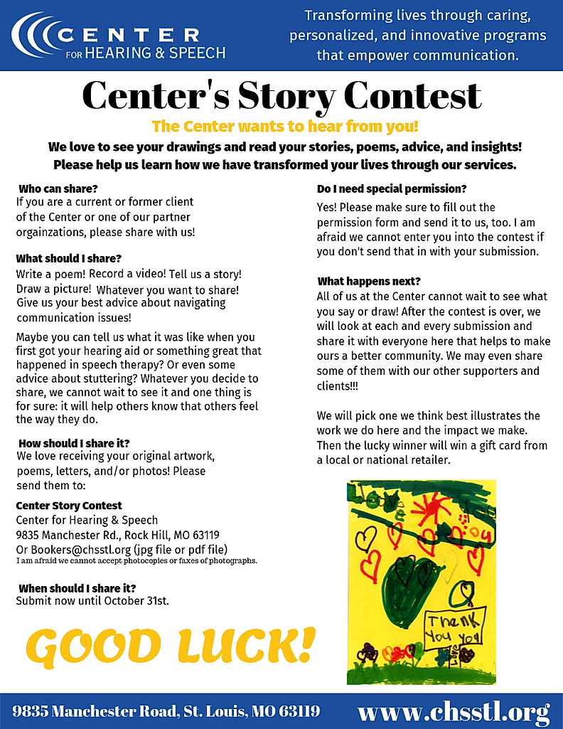 Center's Story Contest Flyer.png