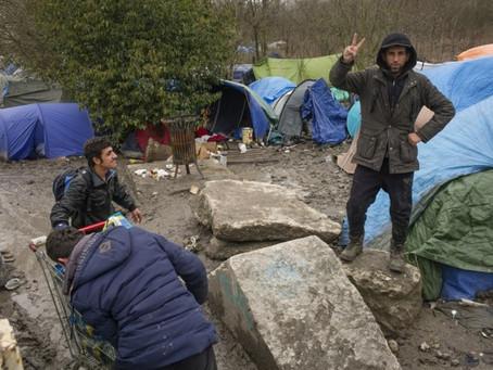 Amper helft vluchtelingen Duinkerke kan terecht in noodopvang - Het Nieuwsblad - 28/12/2017