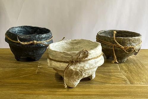 Troy Set of Three Bowls