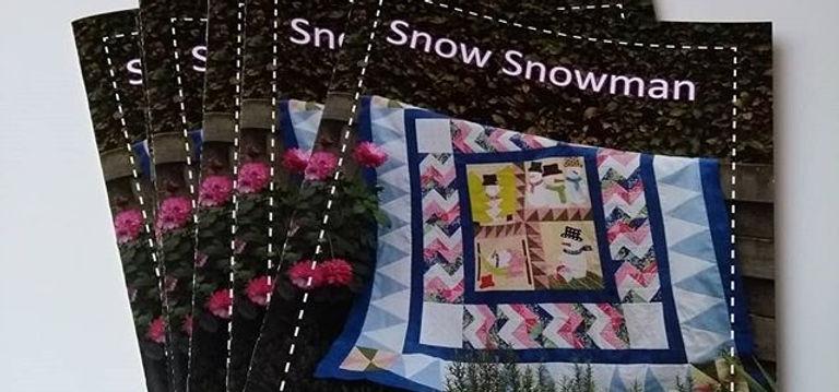 Mijn quilt Snow Snowman is de komende dr