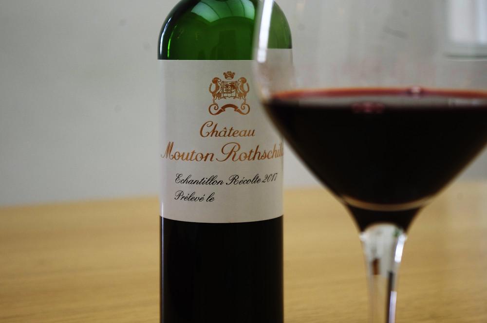 échantillon Mouton-Rothschild