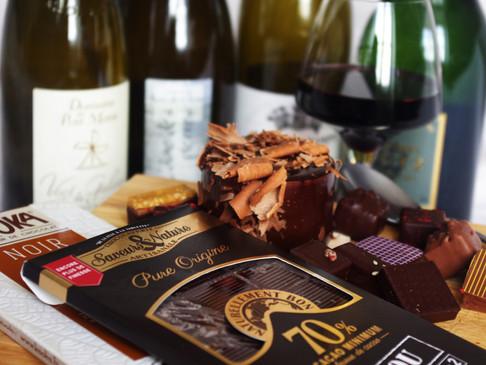 Accord #4 Vin et chocolat