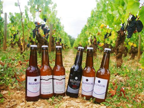 Brasserie Belenium - La bière au milieu des vignes