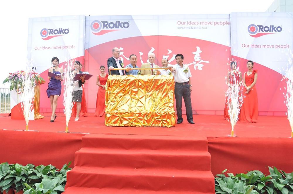 Rolko Xiamen Eröffnungsfeier 2010