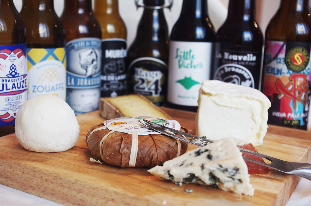 accord bière et fromage