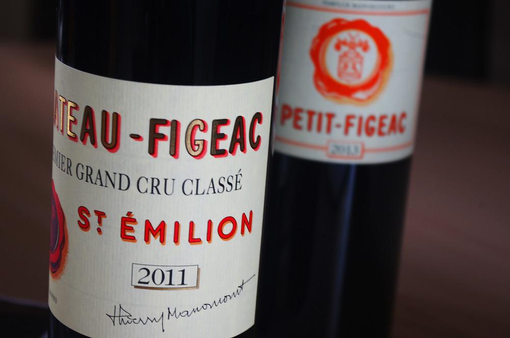 bouteille château Figeac
